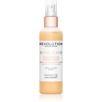 Revolution Skincare Glycolic Acid Essence spray facial recuperator imagine produs