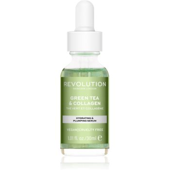 Revolution Skincare Green Tea & Collagen ser hidratant si hranitor