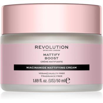 Revolution Skincare Niacinamide Mattify Boost mattierende Tagescreme 50 ml