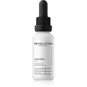 Revolution Skincare Peeling Solution exfoliant facial pentru ten gras poza noua