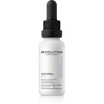 Revolution Skincare Peeling Solution exfoliant facial pentru piele sensibilă