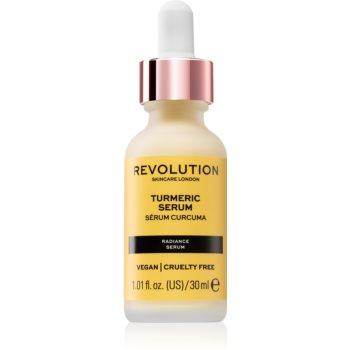 Revolution Skincare Turmeric ser calmant pentru ten gras poza noua
