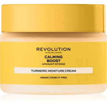 Revolution Skincare Boost Calming Turmeric crema de fata antioxidanta poza noua