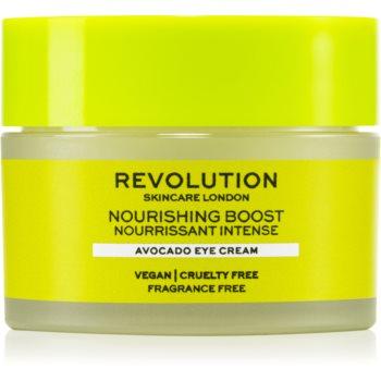 Revolution Skincare Boost Nourishing Avocado crema hranitoare ochi poza noua