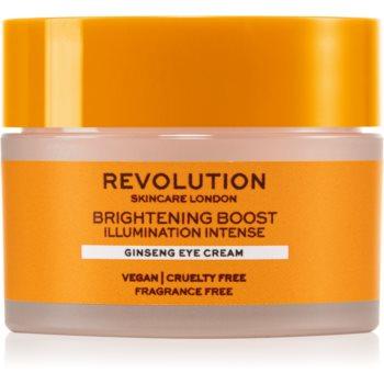 Revolution Skincare Boost Brightening Ginseng crema de ochi iluminatoare poza noua