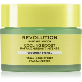 Revolution Skincare Boost Cooling Cucumber crema de ochi hidratanta