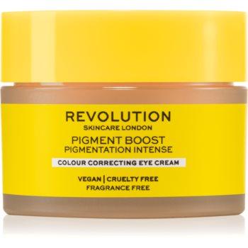 Revolution Skincare Boost Pigment cremă de ochi corectoare pentru cearcăne și riduri poza noua