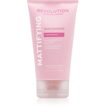 Revolution Skincare Niacinamide Mattify gel matifiant de curatare poza noua