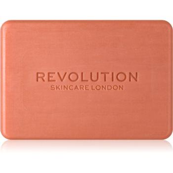 Revolution Skincare Pink Clay sapun pentru curatarea fetei cu argila poza noua