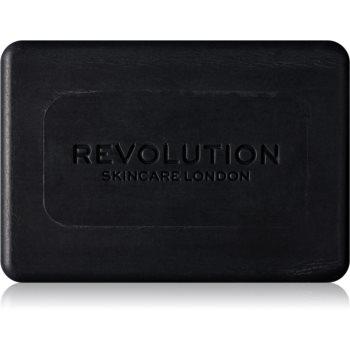 Revolution Skincare Charcoal săpun solid pentru curățare pentru pielea problematica poza noua