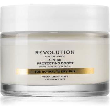 Revolution Skincare Moisture Cream crema hidratanta pentru ten uscat SPF 30