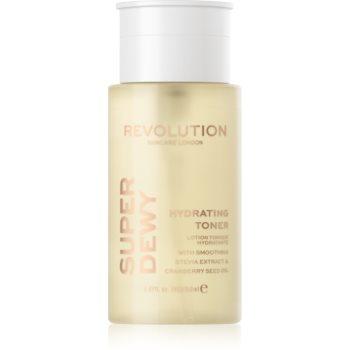 Revolution Skincare Super Dewy lotiune calmanta si hidratanta poza noua