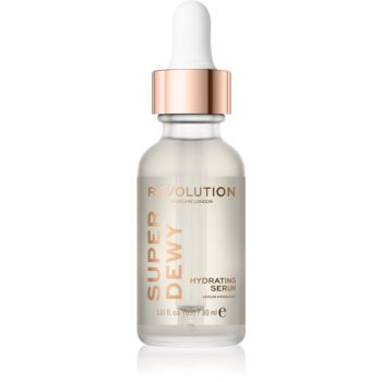 Revolution Skincare Super Dewy ser hidratant pentru stralucire poza noua