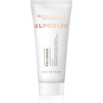 Revolution Skincare Glycolic Acid Polisher exfoliant iluminator poza noua