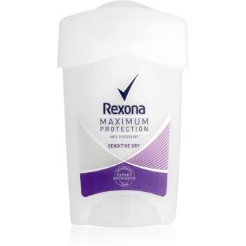 Rexona Maximum Protection Sensitive Dry anti-perspirant crema  45 ml