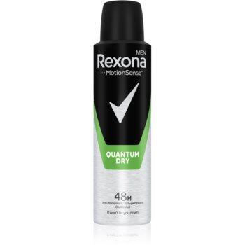 Rexona Dry Quantum spray anti-perspirant imagine produs