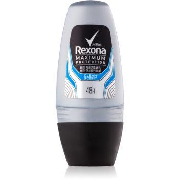 Rexona Maximum Protection Clean Scent deodorant roll-on antiperspirant pentru barbati