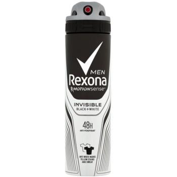 Rexona Invisible Black and White spray anti-perspirant 48 de ore