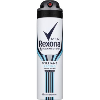 Rexona Williams Racing Limited Edition spray anti-perspirant pentru barbati  150 ml