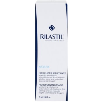 Rilastil Aqua vlažilna maska s hialuronsko kislino 2