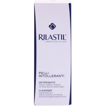 Rilastil Intolerant Skin нежна почистваща емулсия за чувствителна кожа на лицето 2