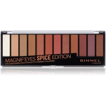 Rimmel Magnif' Eyes Lidschatten-Palette Farbton Spice 14,16 g