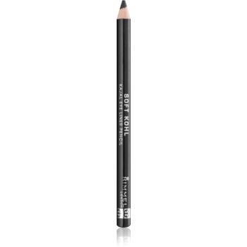 Rimmel Soft Kohl kajalová ceruzka na oči odtieň 061 Jet Black 1,2 g