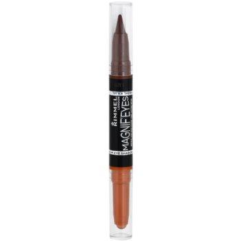 Rimmel Magnif´ Eyes тіні для повік та каяловий олівець для очей 1