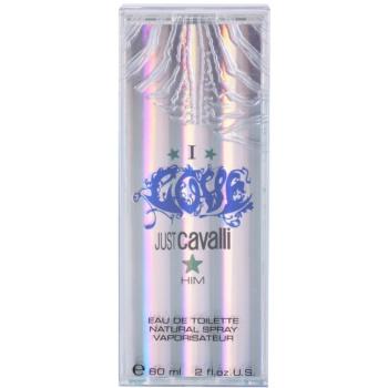 Roberto Cavalli Just Cavalli I Love Him Eau de Toilette para homens