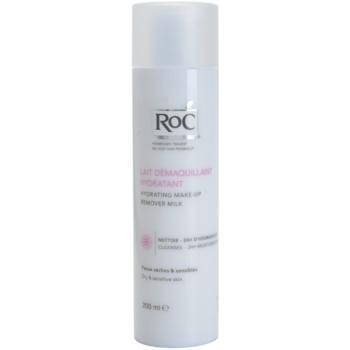 RoC Démaquillant lapte demachiant hidratant pentru ten uscat si sensibil