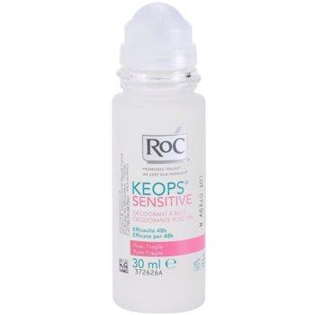 RoC Keops Sensitive desodorizante roll-on para pele sensível 2