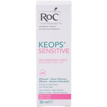 RoC Keops Sensitive desodorizante roll-on para pele sensível 3
