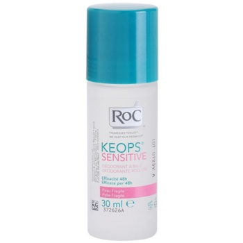 RoC Keops Sensitive desodorizante roll-on para pele sensível