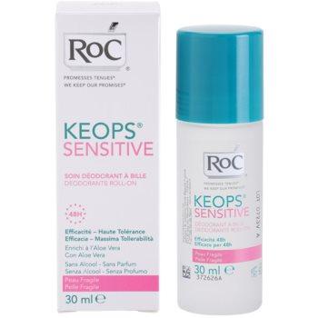 RoC Keops Sensitive desodorizante roll-on para pele sensível 4
