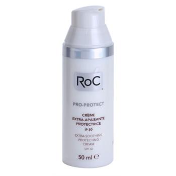 RoC Pro-Protect интензивен успокояващ и защитен крем SPF 50 1