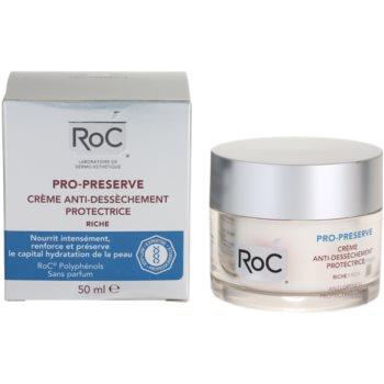 RoC Pro-Preserve creme de proteção para pele seca 3