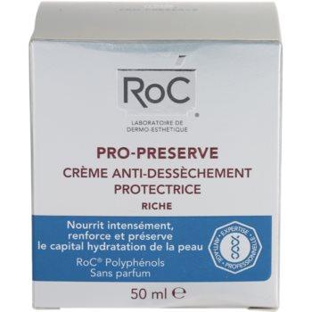 RoC Pro-Preserve creme de proteção para pele seca 4