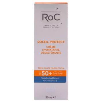 RoC Soleil Protect хидратиращ слънцезащитен крем SPF 50+ 2