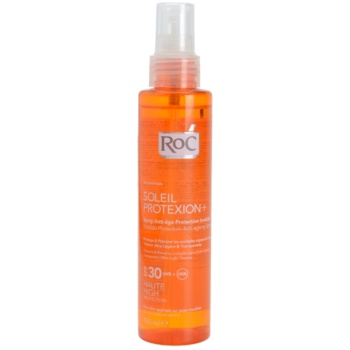 roc soleil protect spray transparent pentru bronzat spf30
