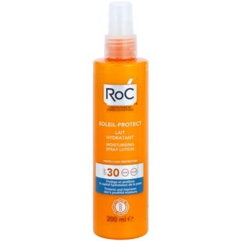 RoC Soleil Protect lotiune hidratanta pentru protectie cu pulverizator SPF 30  200 ml