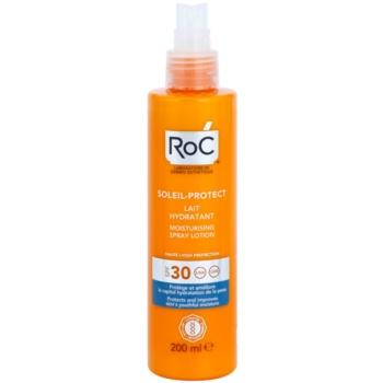 RoC Soleil Protect lotiune hidratanta pentru protectie cu pulverizator SPF 30 1
