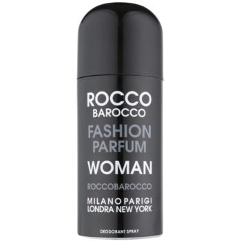 Roccobarocco Fashion Woman deodorant Spray para mulheres