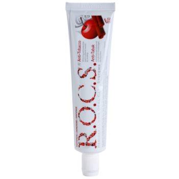 R.O.C.S. Anti-Tobacco pasta de dinti pentru fumatori cu efect de albire