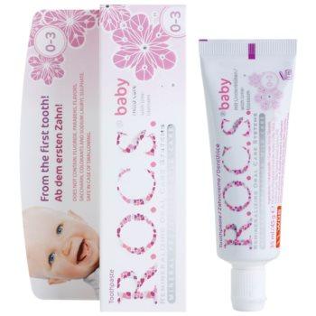 R.O.C.S. Baby Lime-Blossom zobna pasta za otroke 1