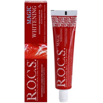 R.O.C.S. Magic Whitening відбілююча паста проти плям на зубній емалі 1