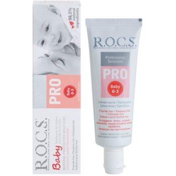 R.O.C.S. PRO Baby pasta de dentes para crianças 1