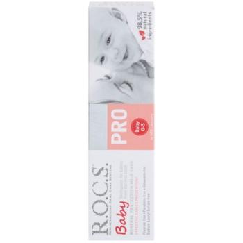 R.O.C.S. PRO Baby pasta de dentes para crianças 2