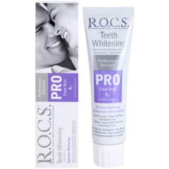 R.O.C.S. PRO Fresh Mint м'яко відбілююча зубна паста 1