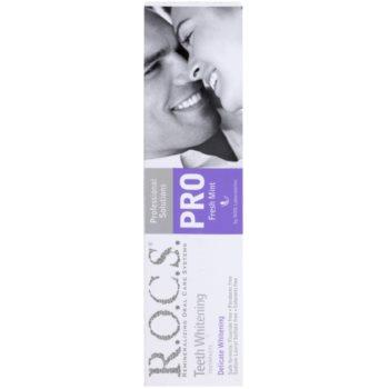 R.O.C.S. PRO Fresh Mint м'яко відбілююча зубна паста 2