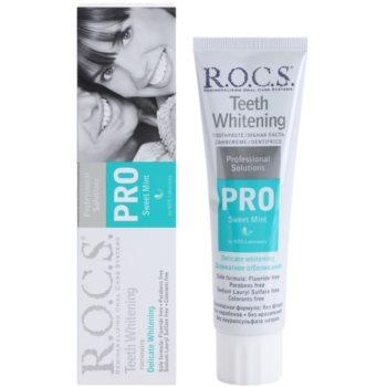 R.O.C.S. PRO Sweet Mint нежна избелваща паста за зъби 1